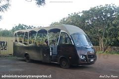 Bus Ara Moai (Maururu Travel) | Iglesia RapaNui | Inrecar G�minis - Chevrolet / HJRY62