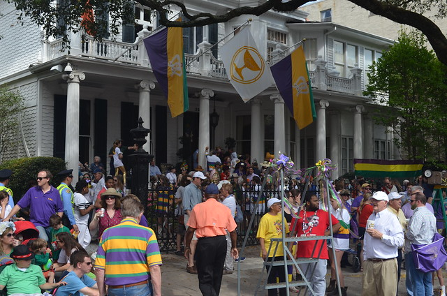 Downman Mansion Fat Tuesday
