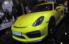 convertible(0.0), automobile(1.0), automotive exterior(1.0), wheel(1.0), vehicle(1.0), performance car(1.0), automotive design(1.0), porsche(1.0), porsche cayman(1.0), auto show(1.0), bumper(1.0), land vehicle(1.0), luxury vehicle(1.0), supercar(1.0), sports car(1.0),