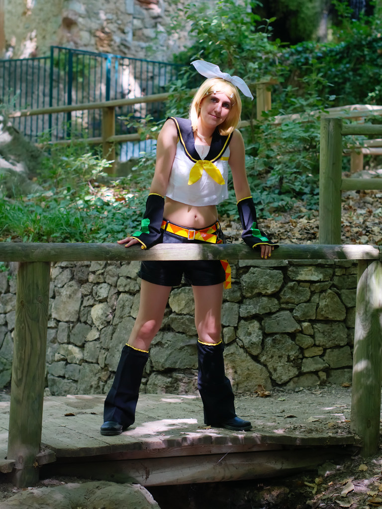 related image - Shooting Rin kagamine - Vocaloid - Parc de Saint Pons -Gemenos- 2015-08-05- P1170750