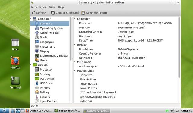 Asus Eee PC 1001HA korszerűsítése projekt #28
