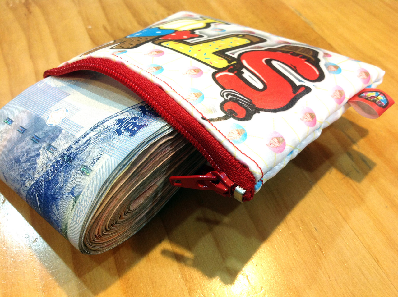 stack-冰淇淋甜筒-防水零錢包-02