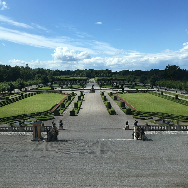 The gardens at Drottningholm Palace, Stockholm