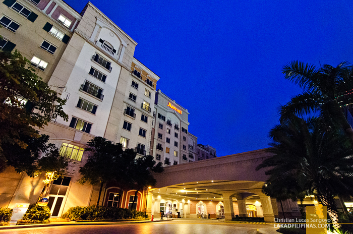 Marriott Manila Facade