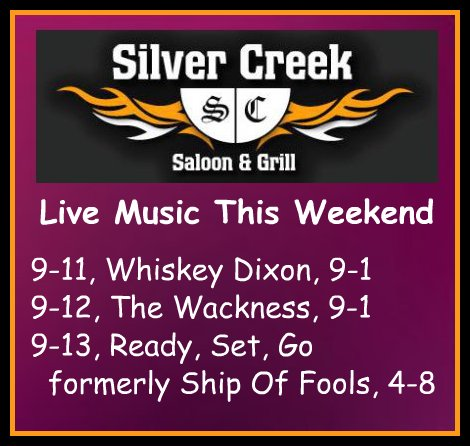 Silver Creek 9-11,12,13-15