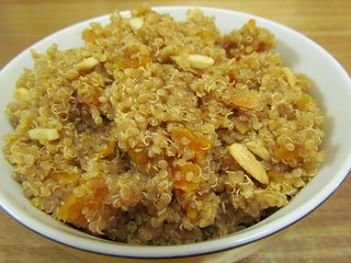 Cinnamon Line and Quinoa with Apricots and Almonds