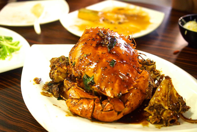 black pepper crab, Mellben Seafood, Lorong 8 Toa Payoh