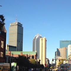 City #blues.  #igboston #skyline #skyscraper #skyporn