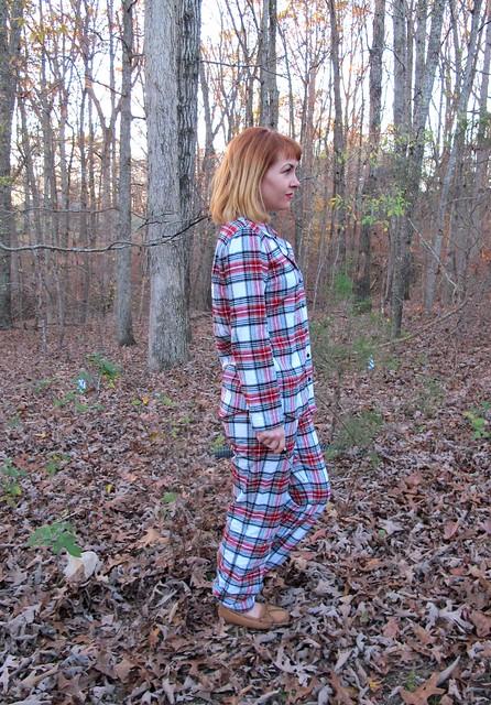 Flannel Carolyn PJs - side