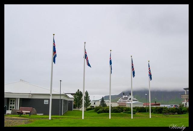Banderas islandesas
