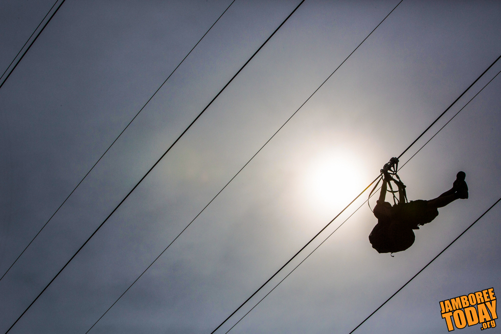 Flying High on the Legacy Zip Line