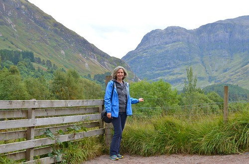 Happy to have arrived in Glencoe
