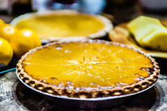 Homemade Delicious Pumpkin Pie made for Thanksgivi…