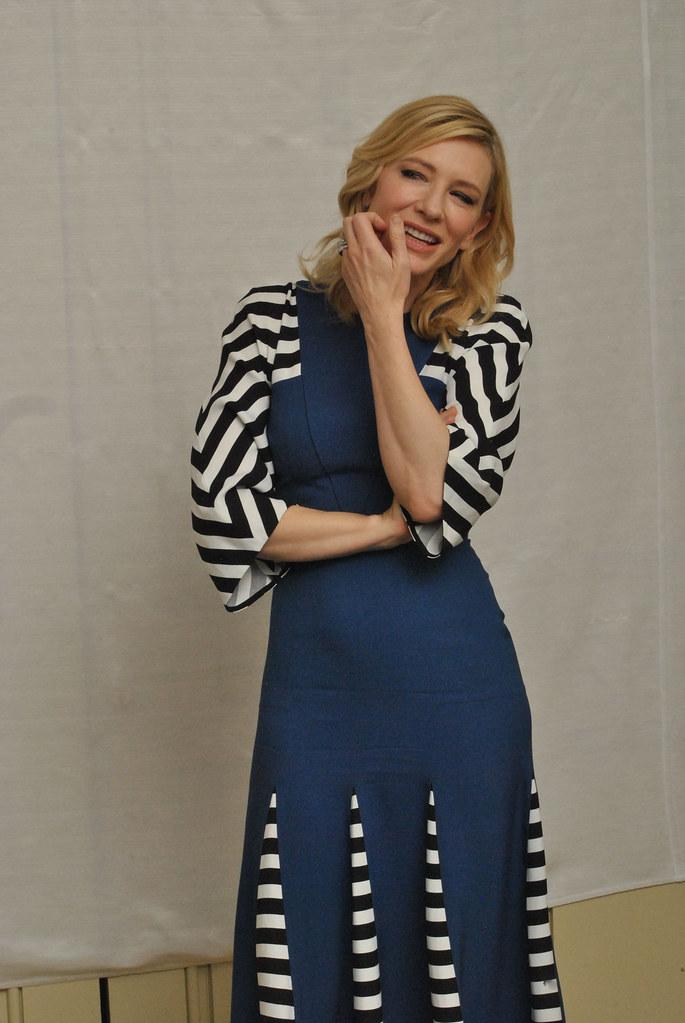 Кейт Бланшетт — Пресс-конференция «Кэрол» 2015 – 5