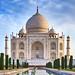 Majestic Taj Mahal Sunrise by denny.yang
