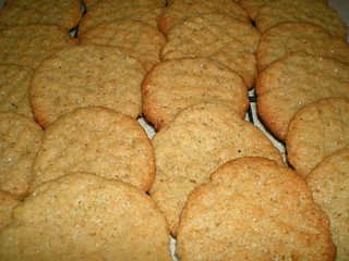 Wollfie's Peanut Butter Cookies