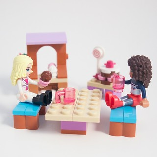 LEGO Friends Advent 2015 Day 18 with Figures