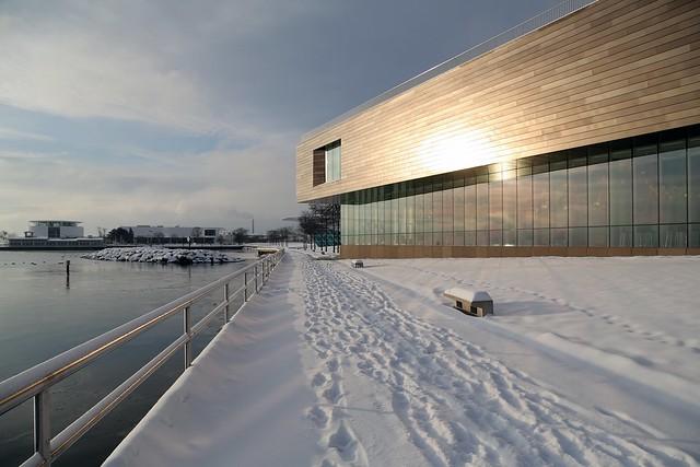 Snowy Lakewalk