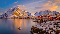 Sunrise at Reine