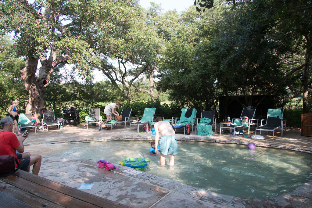 Kiddie pool at Hyatt Hill Country