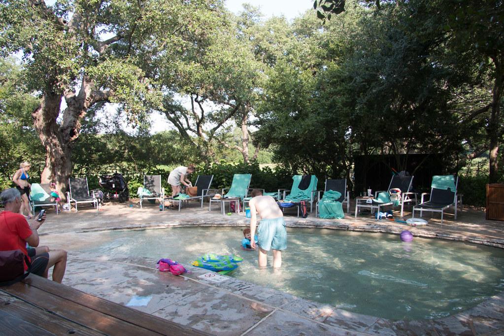 Kiddie pool at Hyatt Hill Country