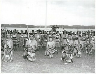Waitangi Day 1968 - The Māori welcome given by the Whakatohea Tribe from the Bay of Plenty