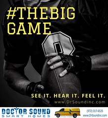 Experience football games like never before. #thebiggame