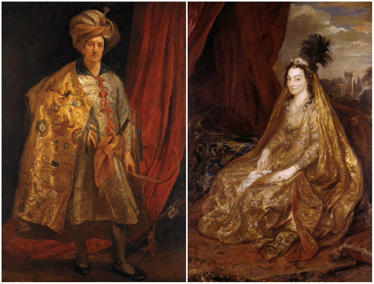 Sir Robert Shirley and Lady Shirley by Anthony van Dyck, 1622