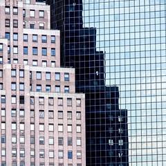 New-York  -  Reflets à Manhattan.