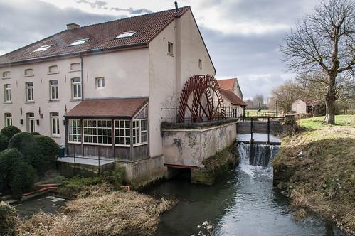 Bunsbeek, molen van Pamelen
