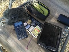 Field recording kit