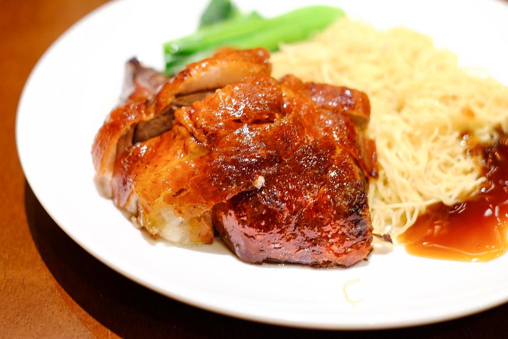London Fat Duck: Roast Duck Noodle