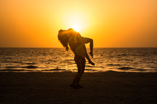 boy sunset shadow sea sun beach girl yellow yoga sunrise persian sand dubai gulf relaxing wave romantic balance persiangulf