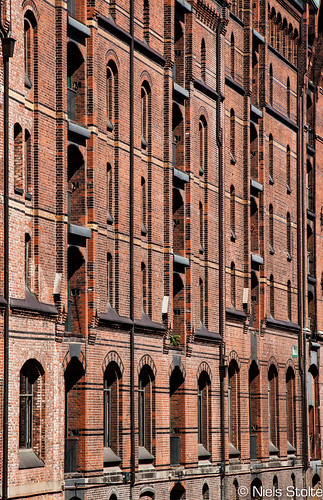 Hafencity Warehouse Density / Hamburg, Germany
