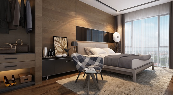 NK Residences - Bedroom
