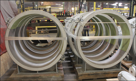 "48"" Dia. Cryogenic Pipe Supports Designed for a Light Hydrocarbon Production Facility"