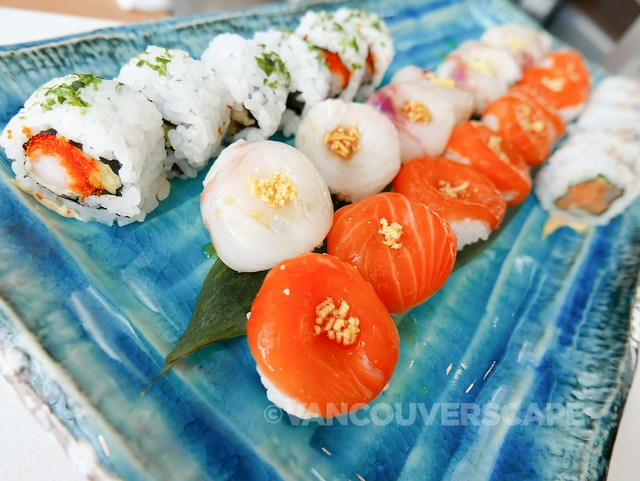 Ancora sushi assortment