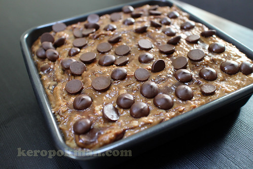 Quaker Instant Oats Chococlate Cake