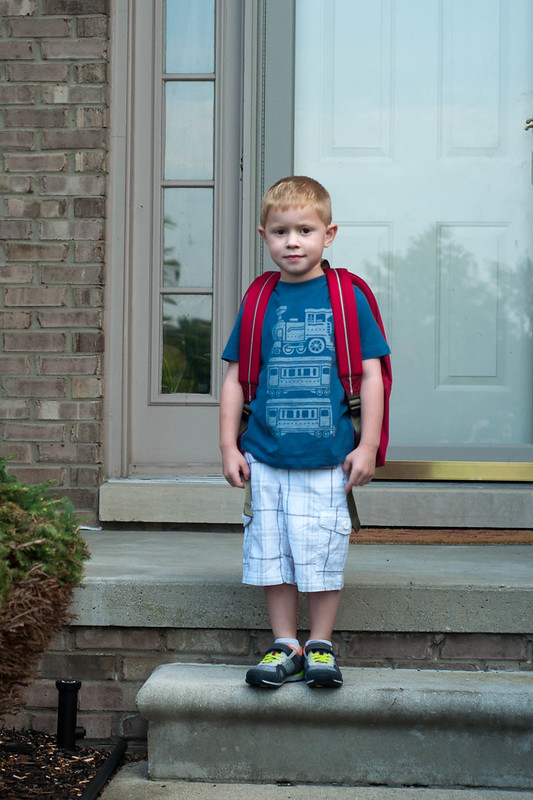 First Day of Kindergarten-11