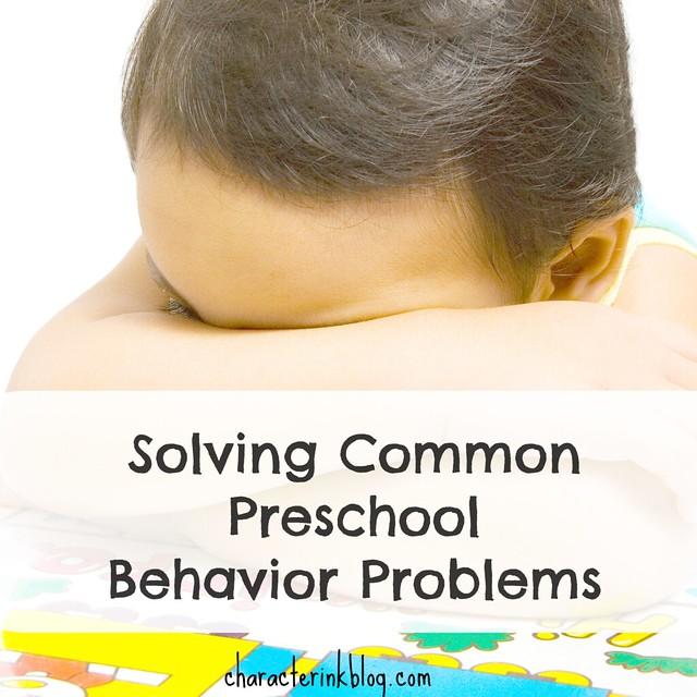 "Podcast Handout For ""Solving Common Preschool Behavior"