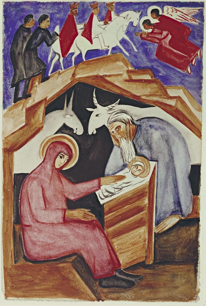 The Nativity, for Liturgy