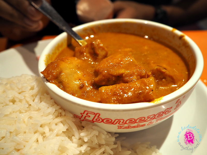 ebenezeers chicken curry
