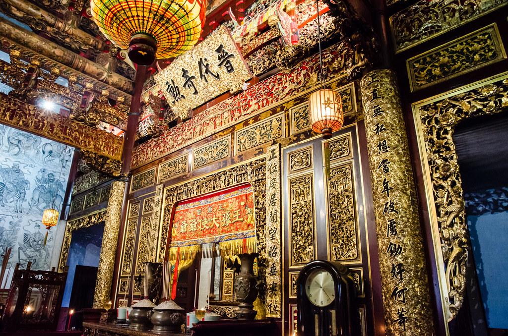 Inside of Leong San Tong Khoo Kongsi
