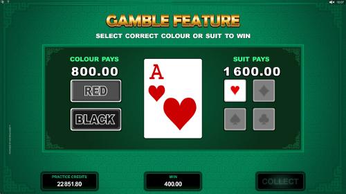 Lucky Zodiac Gamble Feature
