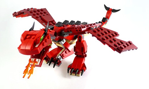 LEGO Creator 31032 Red Creatures 04
