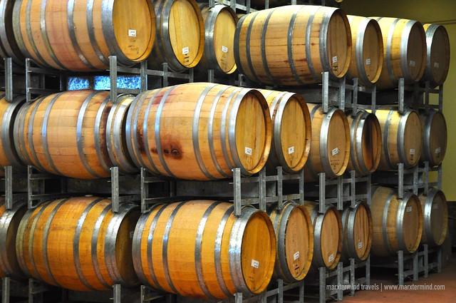 Wine Cellar at Iron Gate Estate