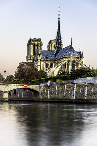 Notre-Dame depuis la Seine