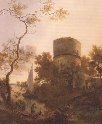 ティヴォリ付近の風景