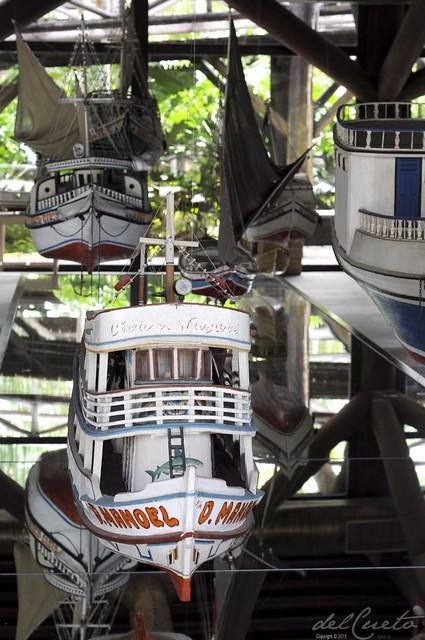 Belém 150915 097 Mangal das Garças Museu Marítmo barcos
