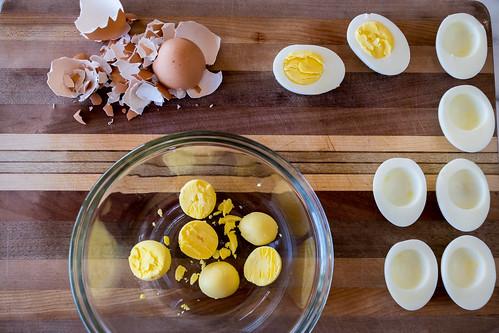 separating the yolks